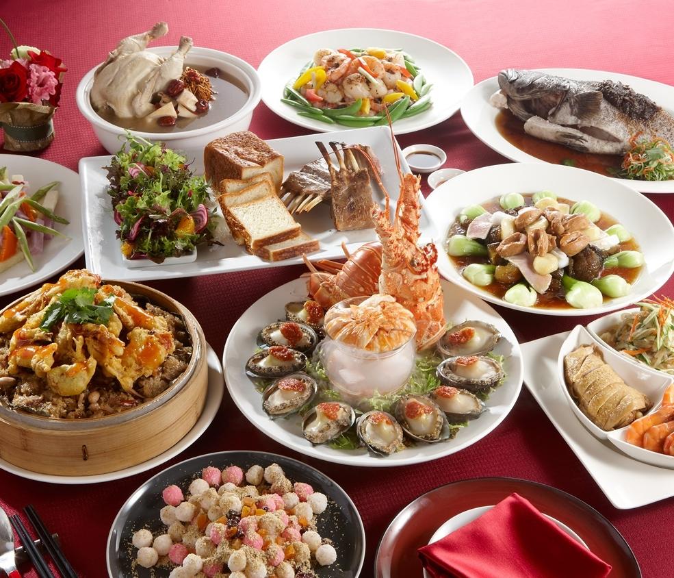 瓏山林台北中和喜宴桌菜