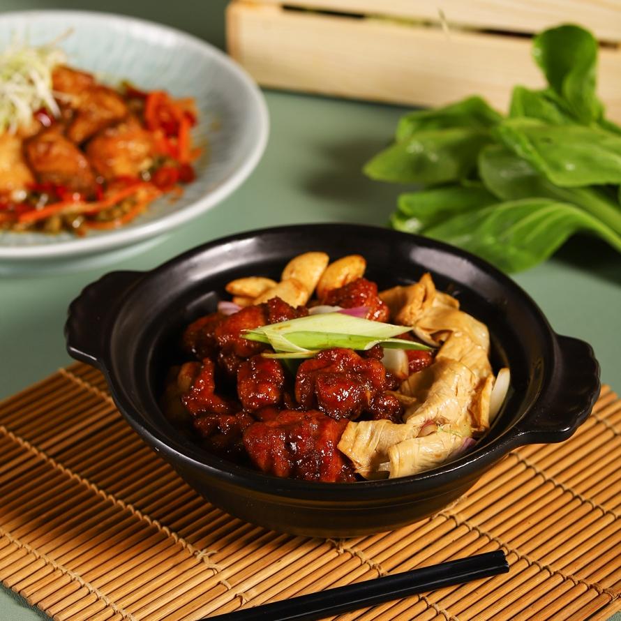 中廚小農-特製砂鍋花雕雞