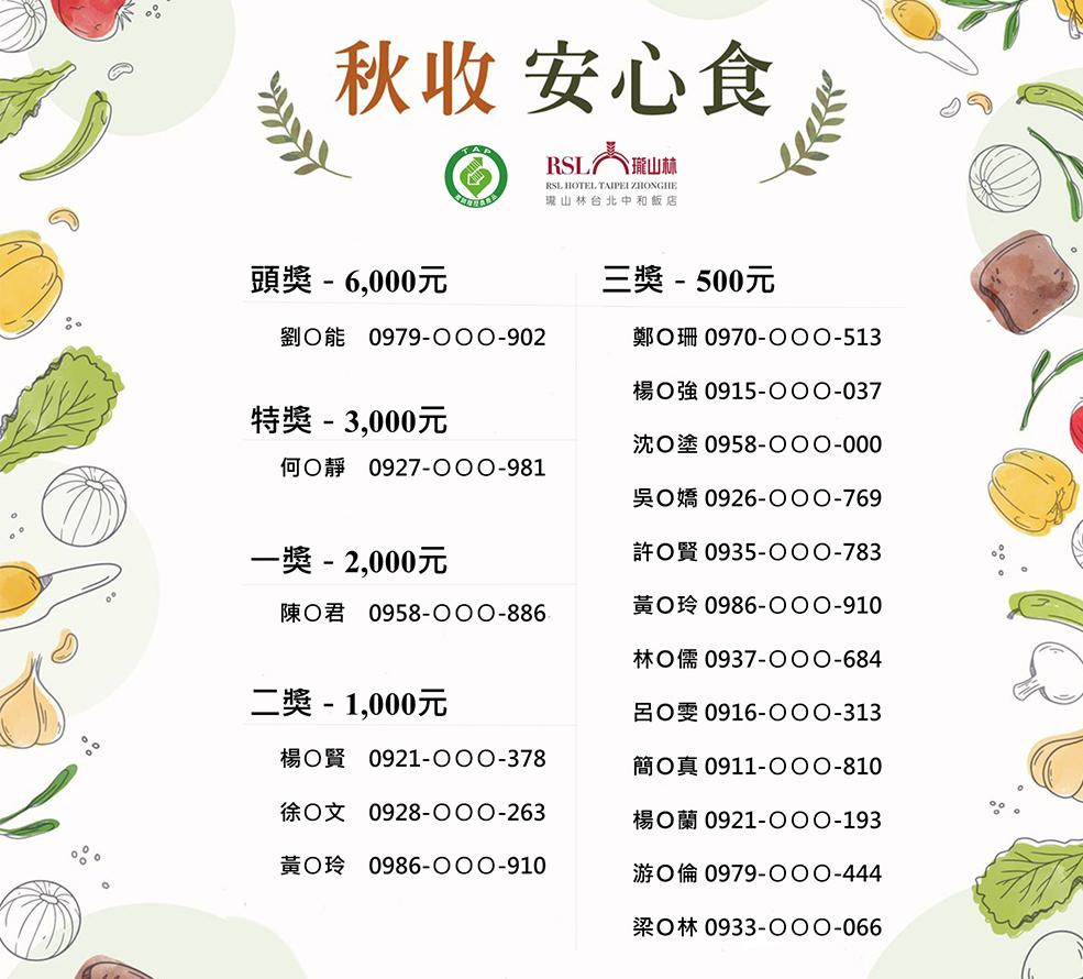秋收安心食加菜金得獎名單-第二波(985x890)