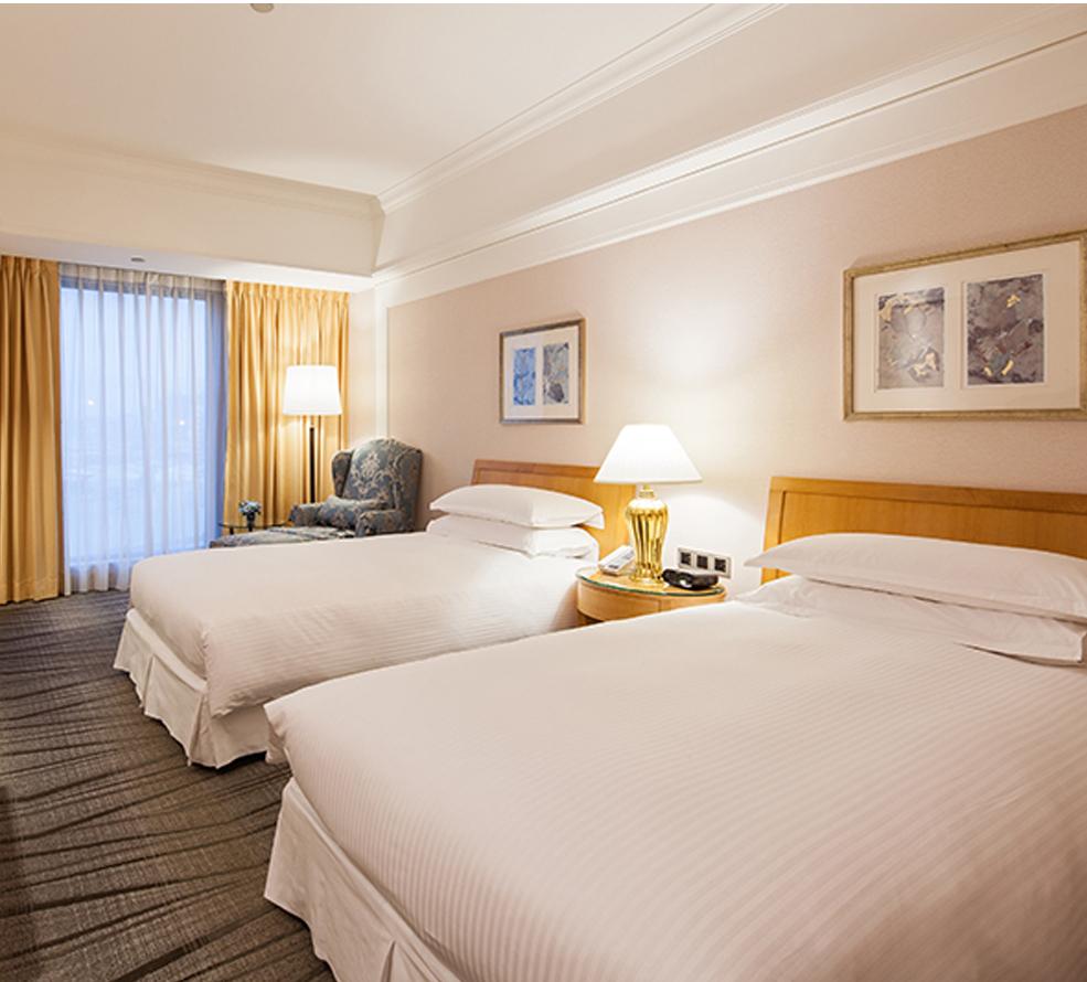 精緻客房-兩小床(傢俱隨機安排,照片僅供參考)